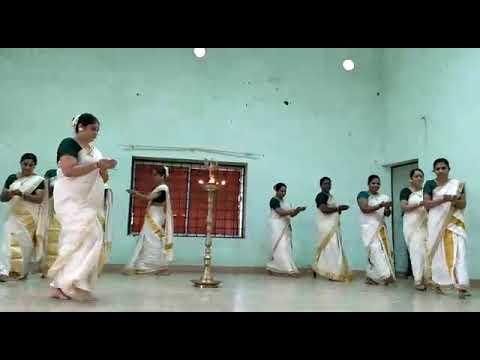 Thiruvathira by Teachers of Vaidyaratnam.P.S.Varier Ayurveda college, Kottakkal 2017.