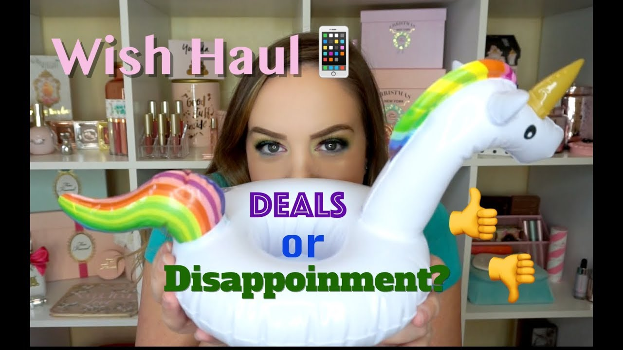 HUGE WISH APP HAUL - FREE ITEMS?! Great deals or disappointments?!