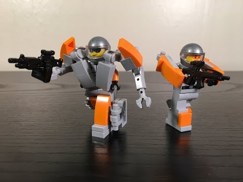 Lego Prometheus Moc!  Icarus and Hector