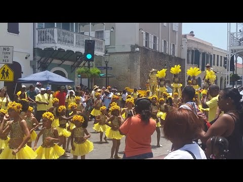 St. Thomas Carnival 2015 - Childrens Parade, U.S. Virgin Islands