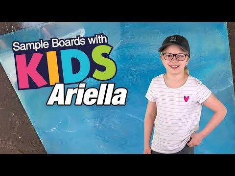 Ariella's First Epoxy Sample Board | Leggari Products