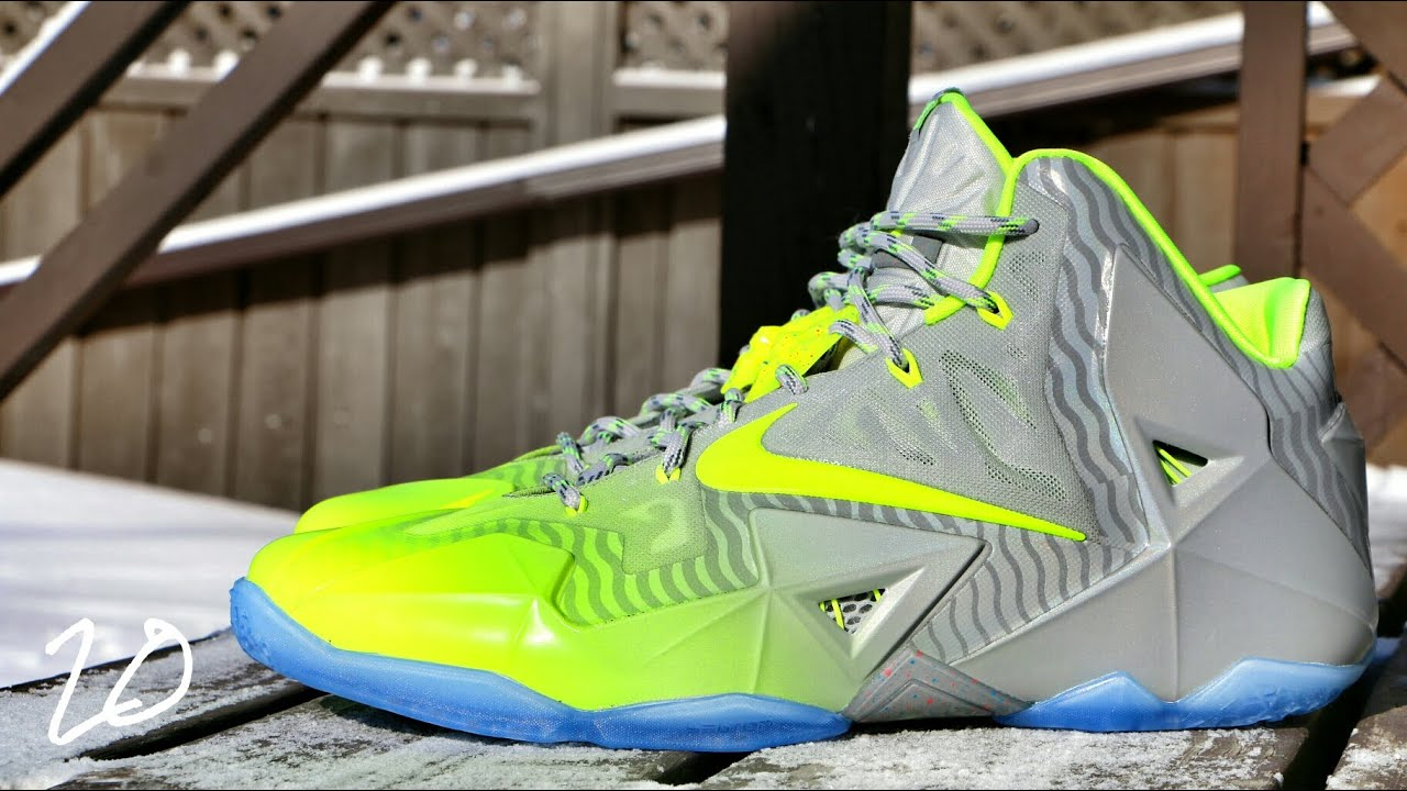 d683e813b7d3 Nike LeBron 11 Maison Du LeBron - Review + On Foot - YouTube