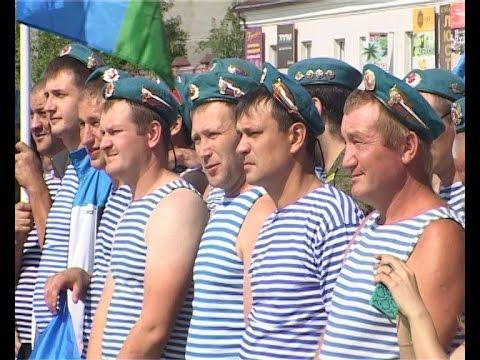 День ВДВ в Шадринске