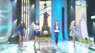 Sistar - Shady Girl, 씨스타 - 가식걸, Music Core 20101009