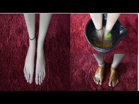 How to do Pedicure / foot spa at home | Get Soft , Smooth and Whitening feet | DIY