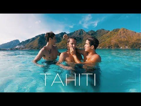 Tahiti: Justin, Eros & Mathi