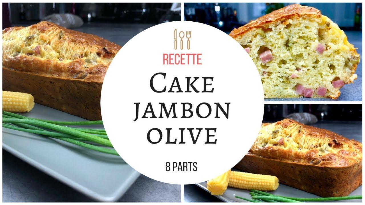 cake jambon olives recette au cook expert magimix youtube. Black Bedroom Furniture Sets. Home Design Ideas
