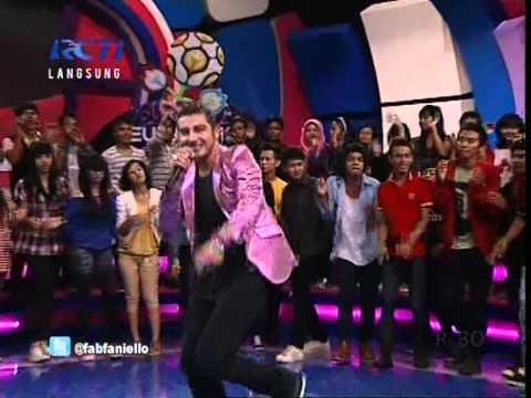 FABRIZIO FANIELLO Live At Dahsyat (02-05-2012) Courtesy RCTI