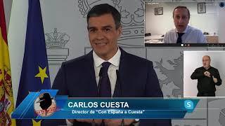 AVISO BRUTAL DE CARLOS CUESTA: IGLESIAS Y SÁNCHEZ HAN PACTADO CON ERC DESTRUIR LA ECONOMIA DE MADRID