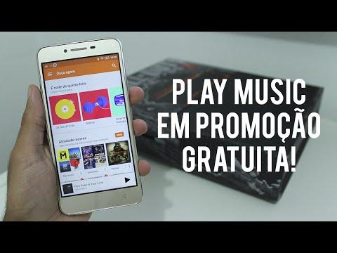 Tutorial - Google Play Music em promoção com TODAS as músicas grátis!