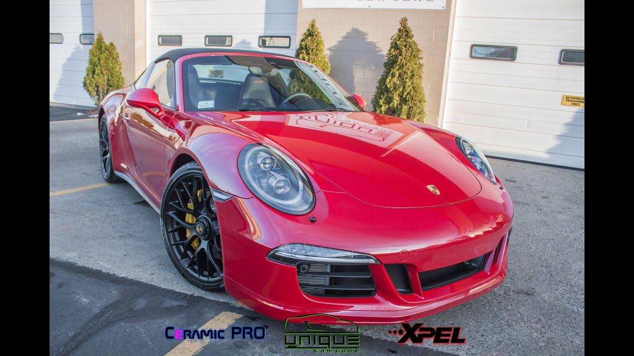 Porsche 911 Targa 4 Gts Full New Car Treatment By Unique Car