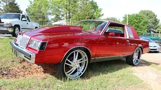 WhipAddict: Kandy Red Buick Regal on Amani Forged Vice 24s, Custom Interior & Grille