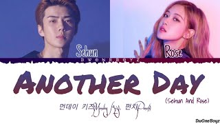 How Would Sehun and Rosè Sing - Another Day (Monday Kiz & Punch) (Hotel Del Luna OST 1) Lyrics/Lirik