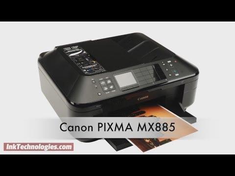 Canon Pixma Mx885 Instructional Video Youtube