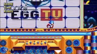 "Sonic Mania (PC) - Studiopolis 2 Sonic: 36""83 (Speed Run) [Glitched, V1.03.0919]"