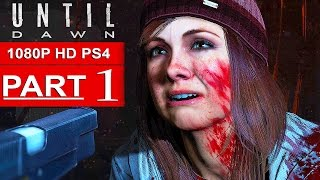 Until Dawn Gameplay Walkthrough Part 1 [1080p HD] WHO WILL SURVIVE? - No Commentary