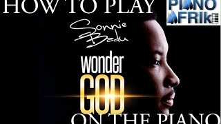How to Play Wonder God by Sonnie Badu on the Piano. Sonnie Badu - Wonder God [Piano Tutorials].