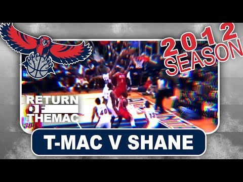 Tracy McGrady Schools Shane Battier v Heat (02.13.2012)