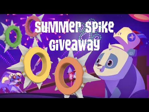 Rare Long Spiked Collars (4) Animal Jam Giveaway 2015
