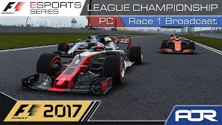 F1 Esports Series 2017: PC League Championship - Race 1 - China