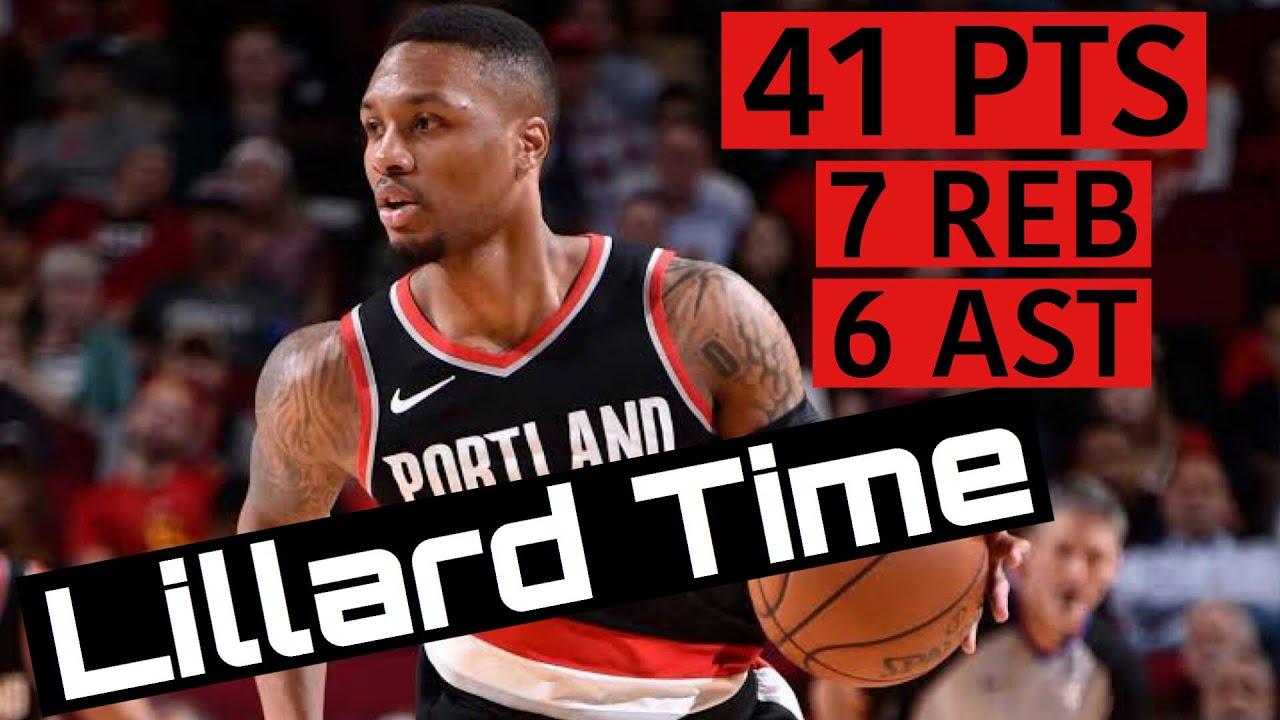 Damian Lillard has 61 points as Portland Trail Blazers outlast Dallas ...