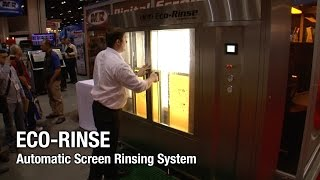 Eco-Rinse - M&R Screen Printing Equipment - Automatic Screen Rinsing System