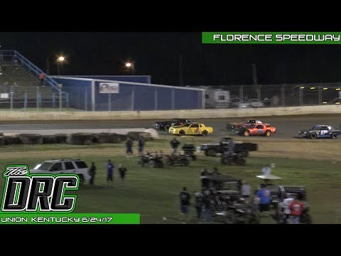 Florence Speedway | 6/24/17 | Phoenix Comfort Systems Pure Stocks | Feature