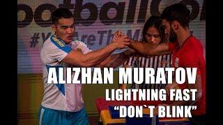Alizhan Muratov (Алижан Мұратов) LIGHTNING FAST WORLD ARM WRESTLING CHAMPION