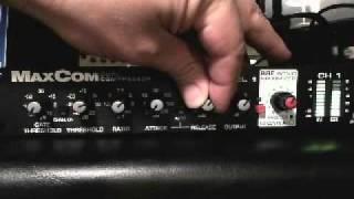 bbe audio max com compressor zenpro audio