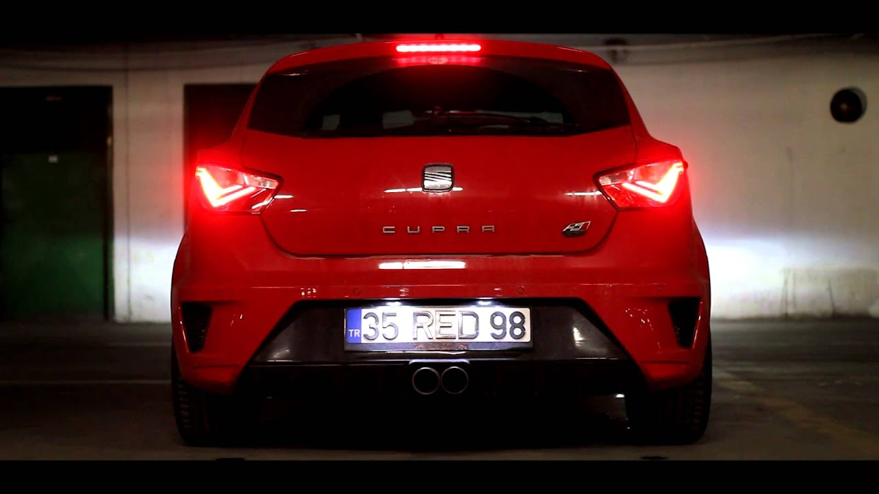 Seat İbiza Cupra Straight Pipe Exhaust Sound Forge Blow