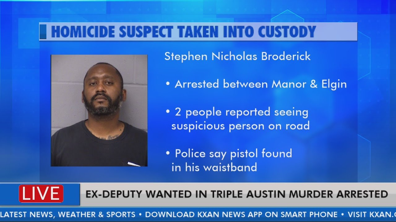 Ex-deputy wanted for triple homicide in Austin arrested