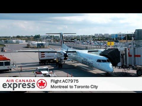 Flight Report # 22 | Air Canada AC7975 | Dash 8-Q400 | Montreal ✈ Toronto City | Economy Class
