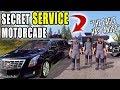 SECRET SERVICE MOTORCADE FOR SQUAD.jr | FARMING SIMULATOR 2017