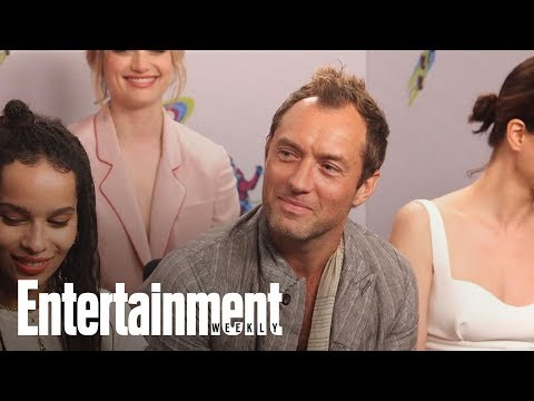 'tastic Beasts' Star Jude Law On What Grindelwald Represents  SDCC 2018  Entertainment Weekly