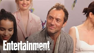 'Fantastic Beasts' Star Jude Law On What Grindelwald Represents | SDCC 2018 | Entertainmen