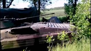Донецк Блокпост Трупы убитых солдат лежат на сырой земле  Их не убирают до приезда журналистов