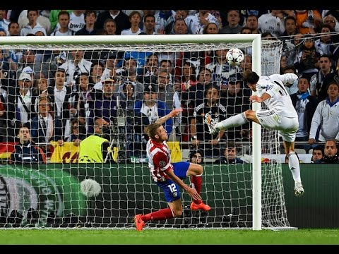 UCL Final Real Madrid vs Atletico Madrid (4-1) Gareth Bale Goal PL HD