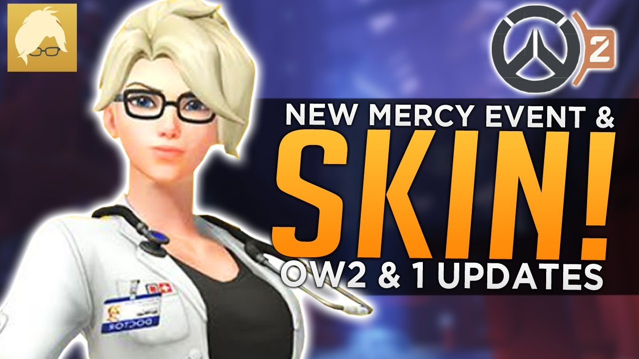 Overwatch: NEW Mercy Event & SKIN! - OW2 PvP Updates & News thumbnail