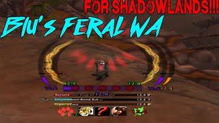 blu's Feral WA for Shadowlands on WAGIO.IO