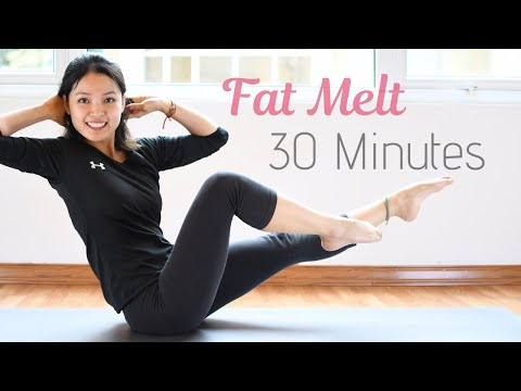 fastest-fat-melt-💚-lose-weight-30-minute-pilates-workout