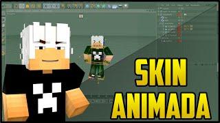 Cinema 4D - Como fazer Sua Skin de Minecraft Animada !