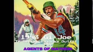 AGENTS OF MAYHEM 1983 Gi Joe Bazooka Outfit!