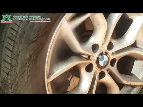 Steam Car Wash-Tire Wheel Steam Cleaning