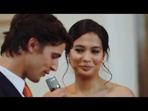 Wedding of Isabelle Daza and Adrien Semblat