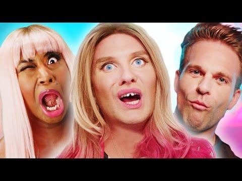 "Madonna ft. Nicki Minaj - ""Bitch I'm Madonna"" PARODY"