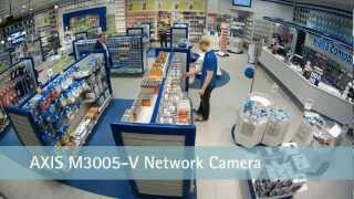 Axis m-3005-v 1080p 2MP Ip Kamera Demo