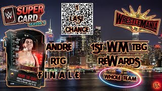 WWE SUPERCARD: HOW TO GET THE QR CODE! TBG + RTG!!!!!