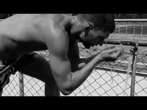 Juhar Martin - high jump (120 cm) slow motion + living Water
