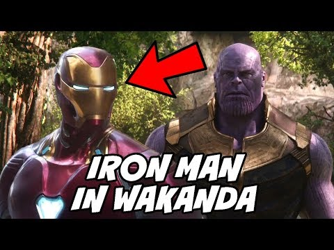 Play IRON MAN in Wakanda in Avengers 4 not Avengers Infinity War Explained in Hindi