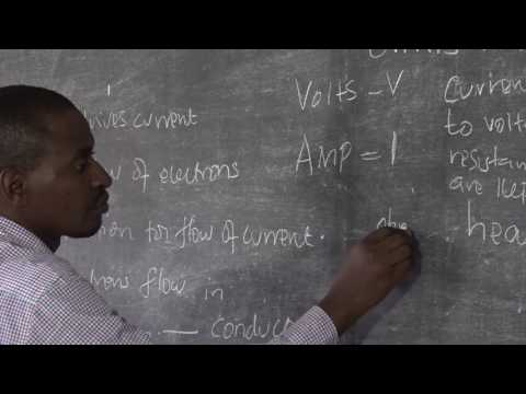 Electrical Installation Lesson2 Fundamentals of Electricity part2
